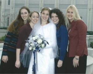Bonnie and her Bridesmaids